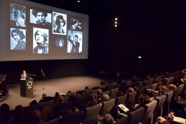 Adelheid Heftberger at Women and the Silent Screen 2019, Amsterdam. Photo by Ben Solovey